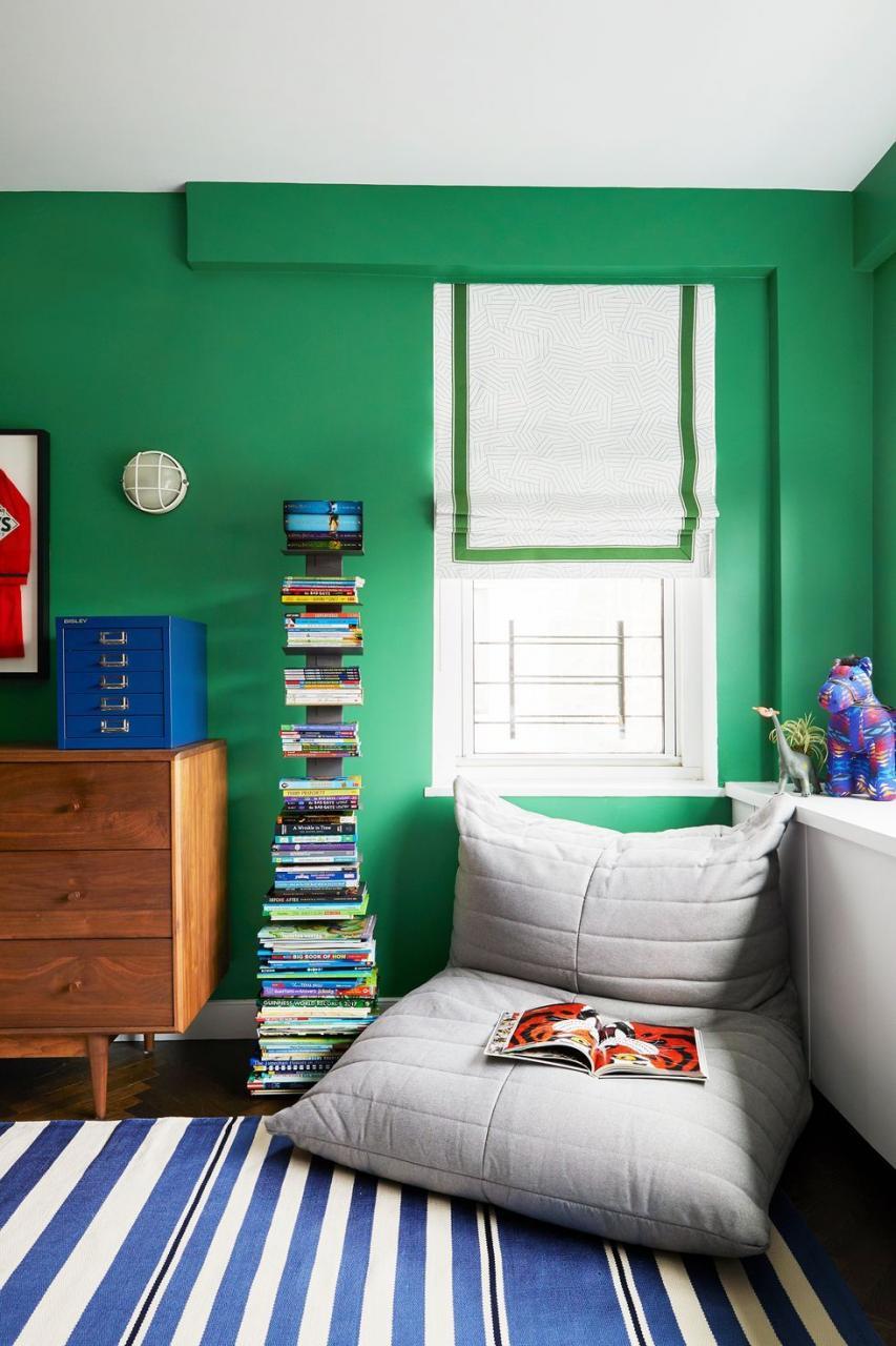 Décorer la chambre d'un garçon avec plusieurs couleurs