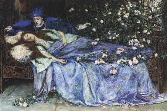 L'histoire de la Belle au bois dormant