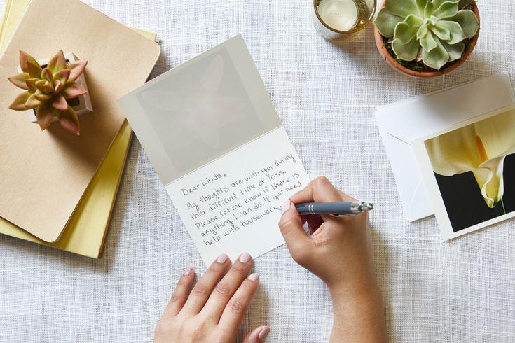 Comment rédiger une lettre de condoléances pour une perte