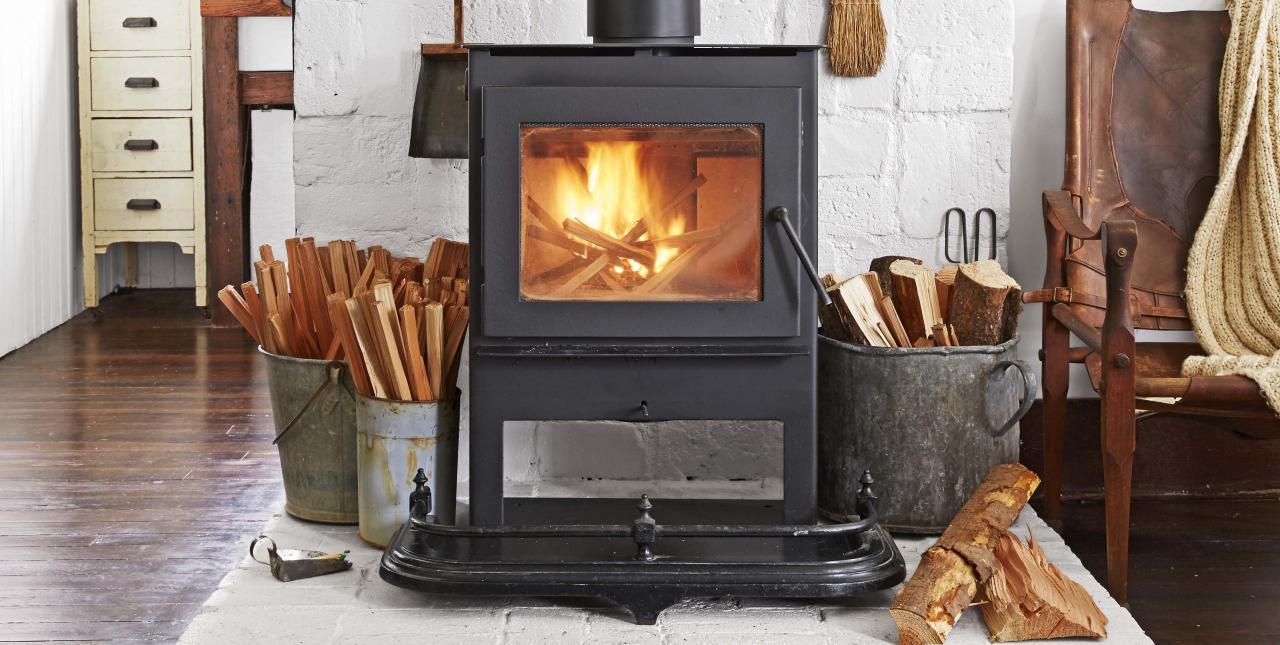 Guide des poêles à bois à haute efficacité: brûler le feu à la manière écologique